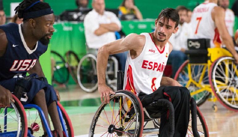 Bolaños Fran Lara convocado por la Selección Española Masculina de Baloncesto en Silla de Ruedas