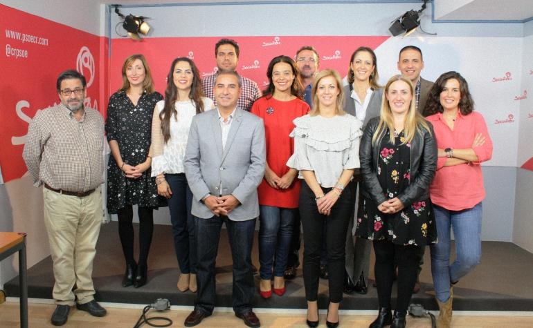 Ciudad Real mete a 15 miembros en la Ejecutiva Regional del PSOE