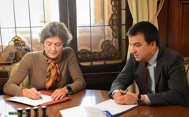 El Consejero de Agricultura pide soluciones para la sequía de La Mancha