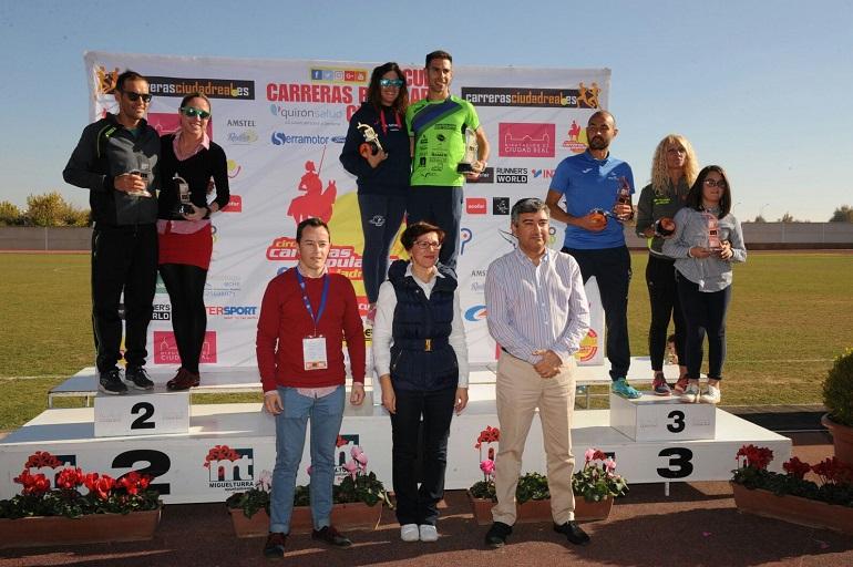 El bolañego Jesús Bautista del CA Átlas Bolaños vence en la XIV Media Maratón Rural Villa de Miguelturra