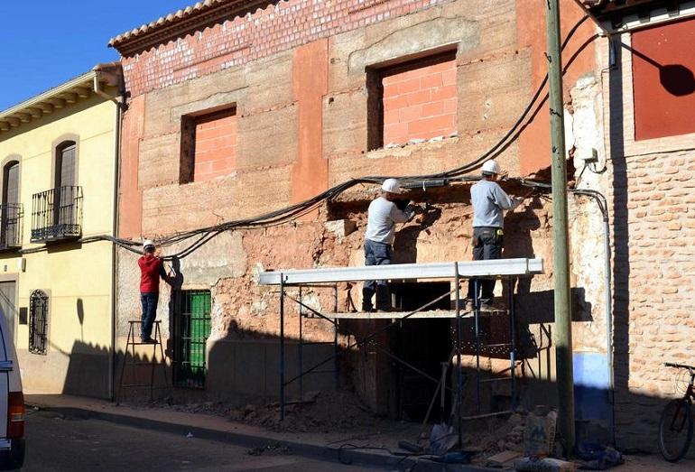 Granátula de Calatrava trabaja ya en la rehabilitación de la casa del General Espartero