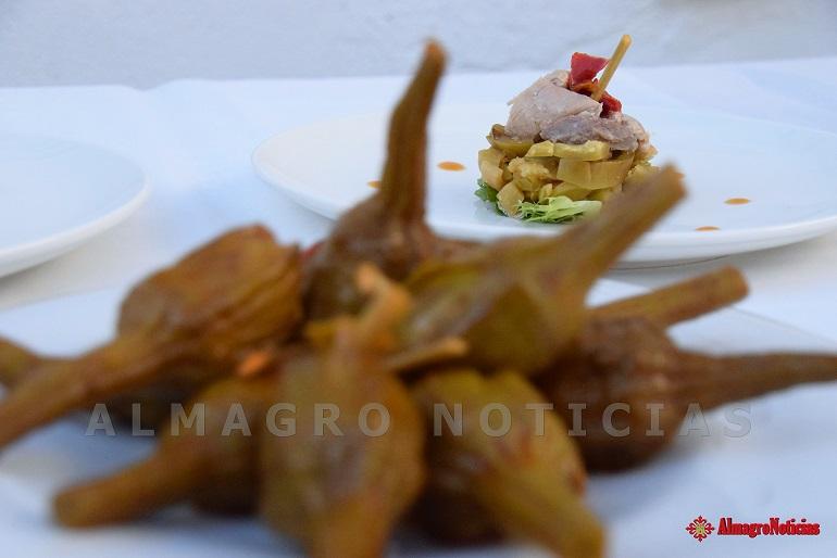 Bolaños La IGP Berenjena de Almagro, celebró la jornada gastronómica De tapas con la Berenjena de Almagro