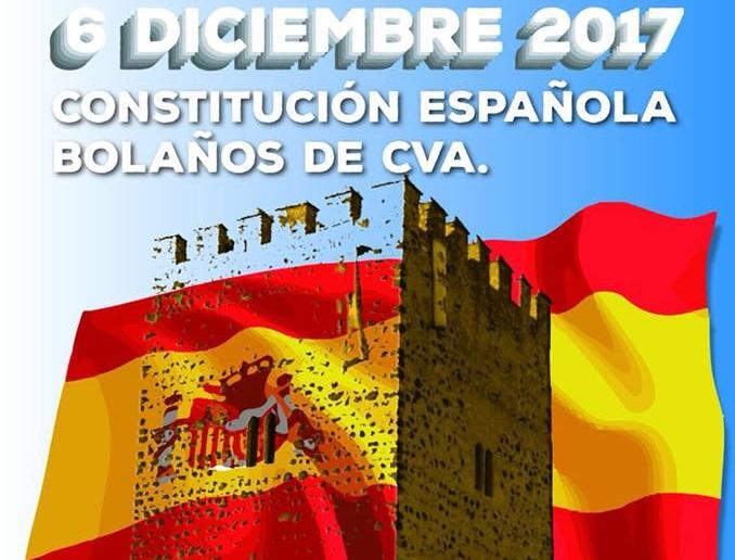 Bolaños con la Constitución Española