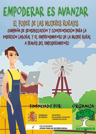 """""""Empoderar es avanzar"""" - AFFAMER( ASOCIACIÓN DE FAMILIAS Y MUJERES DEL MEDIO RURAL)"""