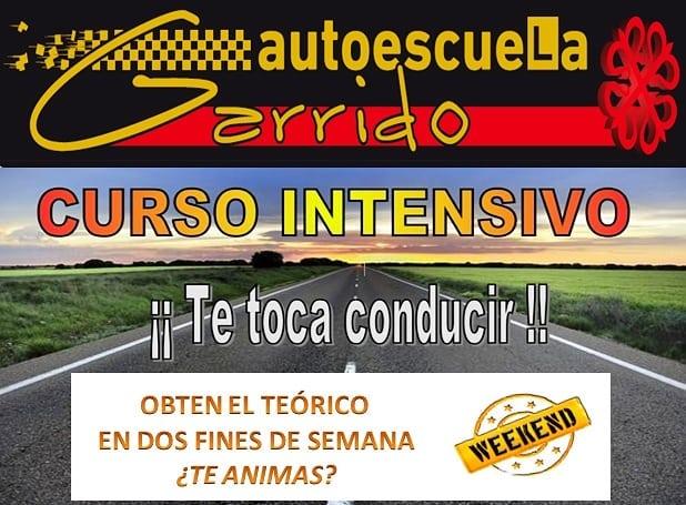 Autoescuela Garrido - Curso Intensivo - Comenzamos el 22 de Noviembre!