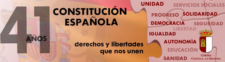 41 Años Constitución Española - Cortes Castilla La Mancha
