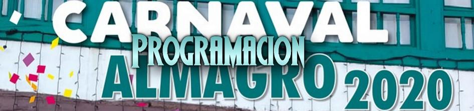 Programación Carnaval 2020 de Almagro